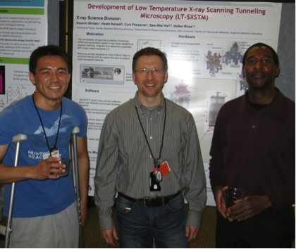 2014 Users Meeting APS CNM EMC poster session Nozomi Shirato Volker Rose Marvin Cummings