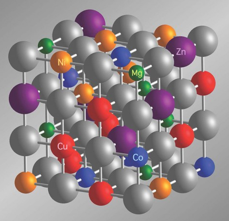 The First Entropy-Stabilized Complex Oxide Alloys