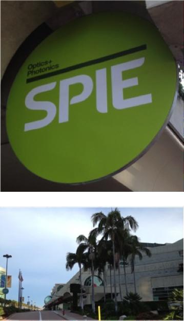 2013 SPIE Optics and Photonics San Diego