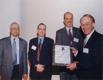 2001 Compton Award 2001 Winner