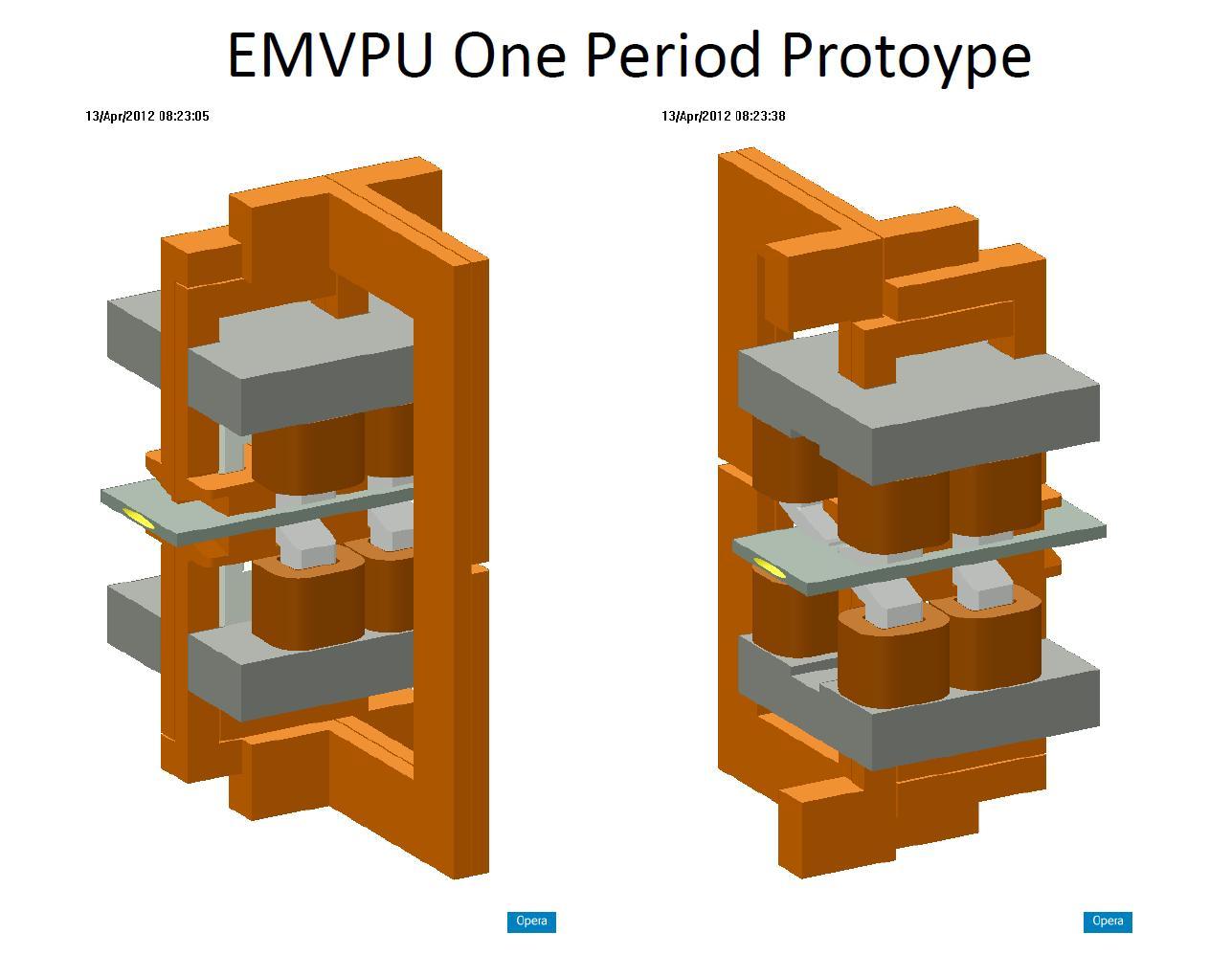 Electromagnetic Variable Polarizing Undulator (EMVPU)