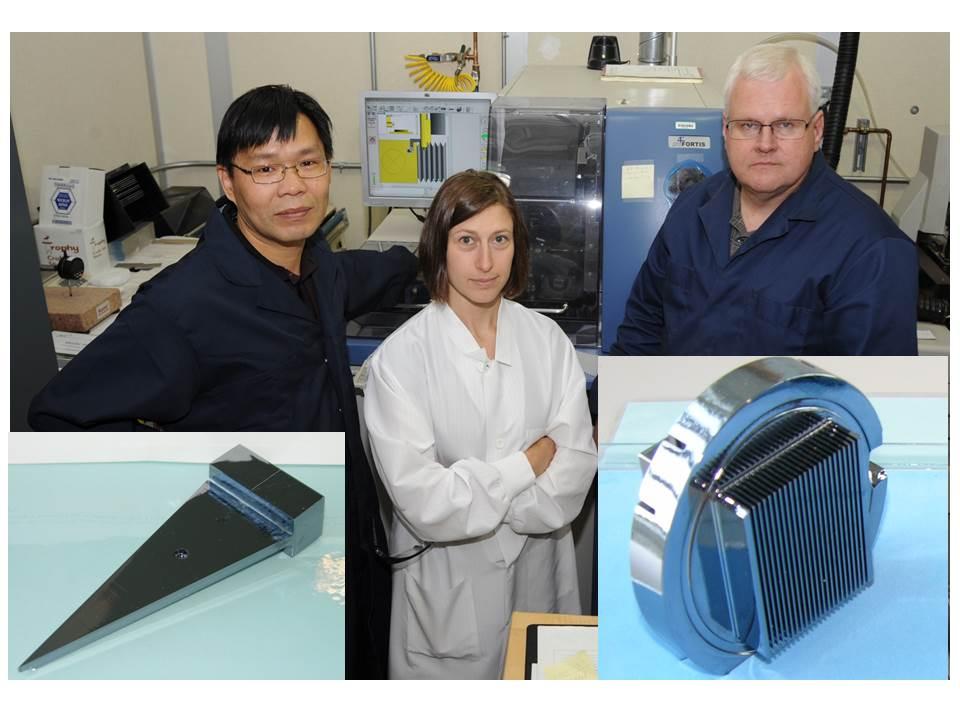 Crystal Optics Fabrication and Characterization