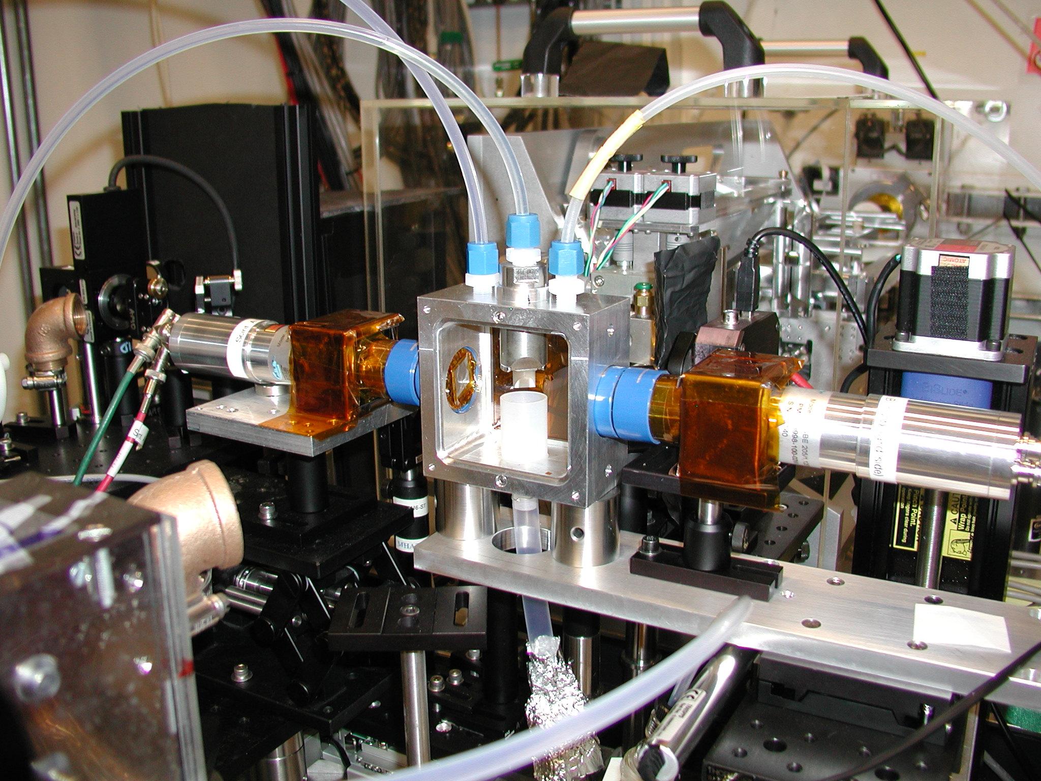 Liquid Jet Spectroscopy