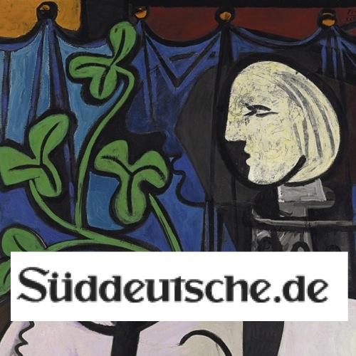 Süddeutsche: Picasso sparte bei der Farbe (in German)