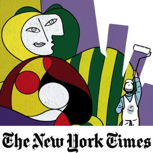 New York Times: Picasso's Masterpieces Made With House Paint