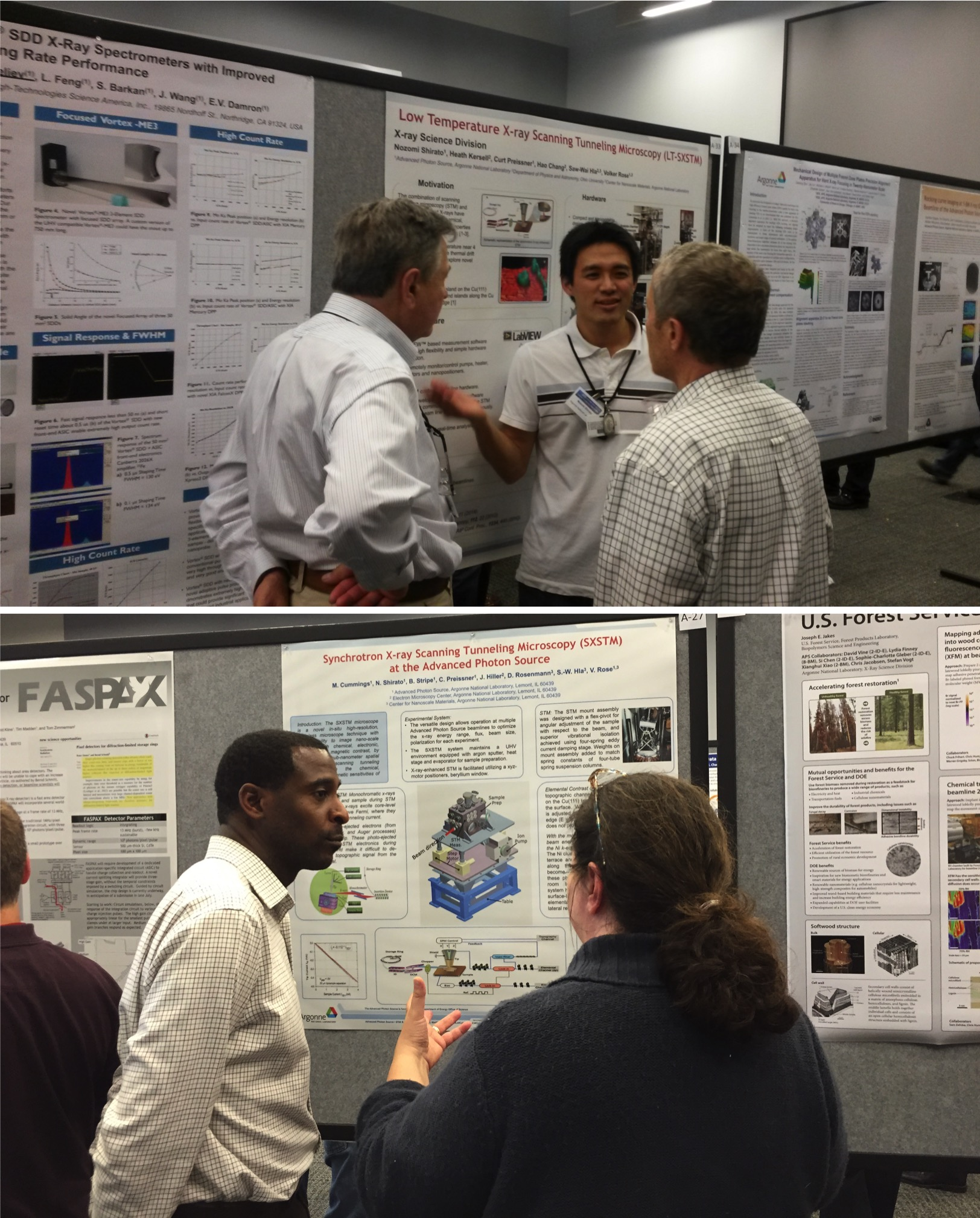 SXSPM SX-STM Marvin Cummings Nozomi Shirato poster session Users Meeting 2015