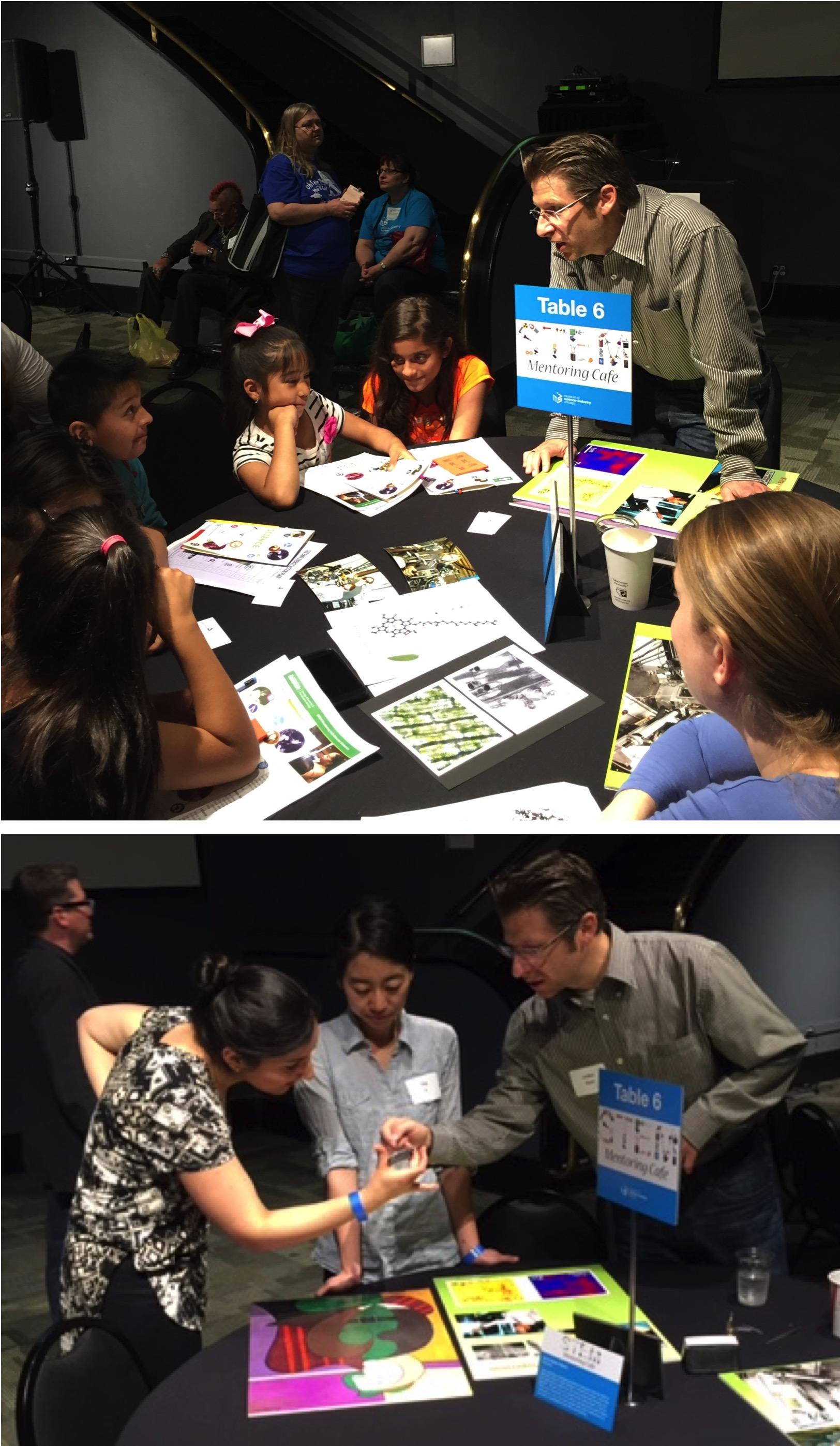 Volker Rose DOE STEM Mentoring Cafe Chicago Museum of Science an Industry