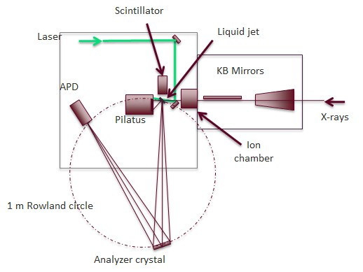Simultaneous Spectroscopy and Scattering