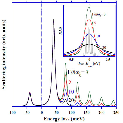 Observation of phonons with resonant inelastic x-ray scattering