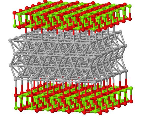 High brightness photocathodes through ultra-thin surface layers on metals