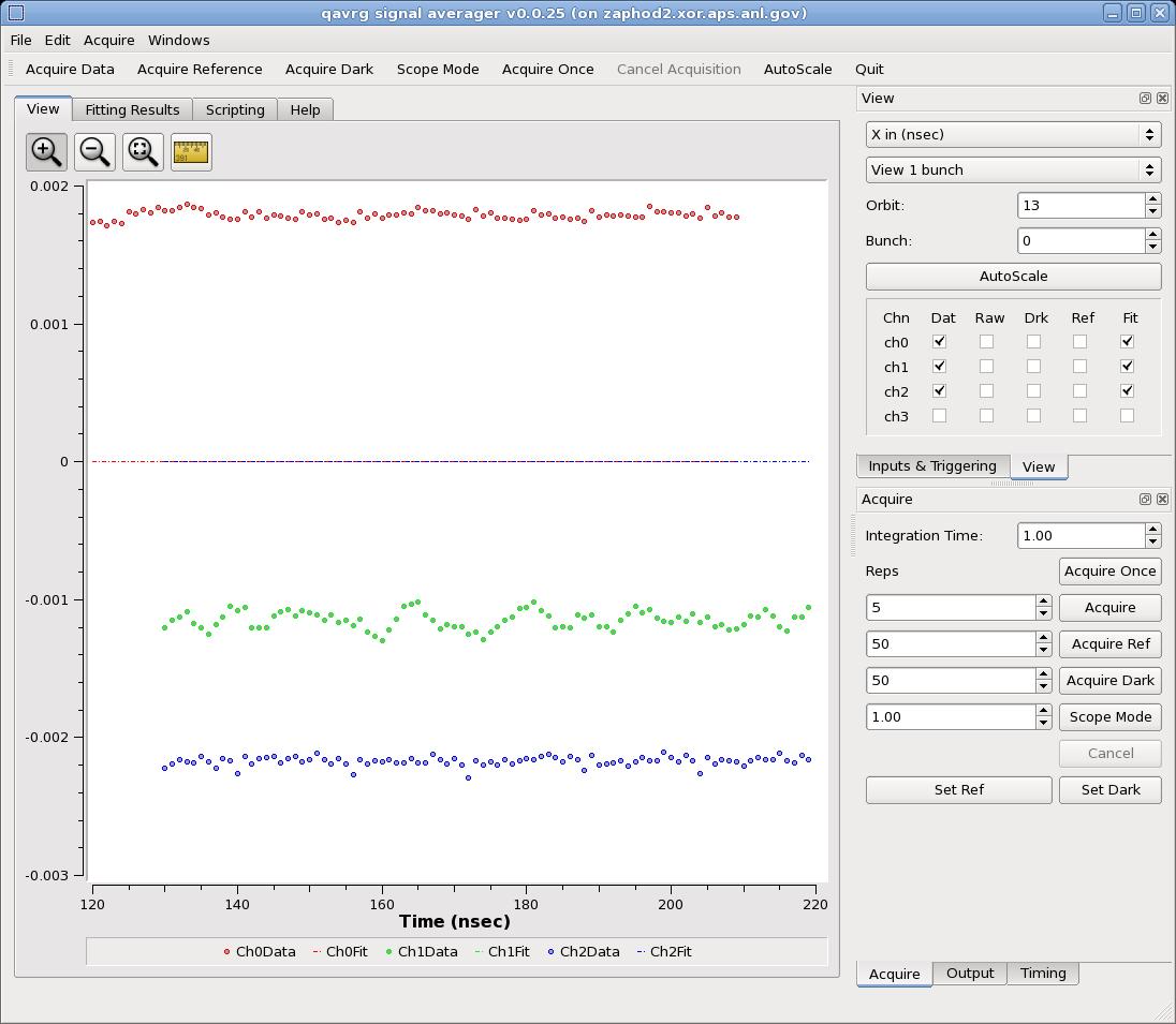 QAVRG Screen image