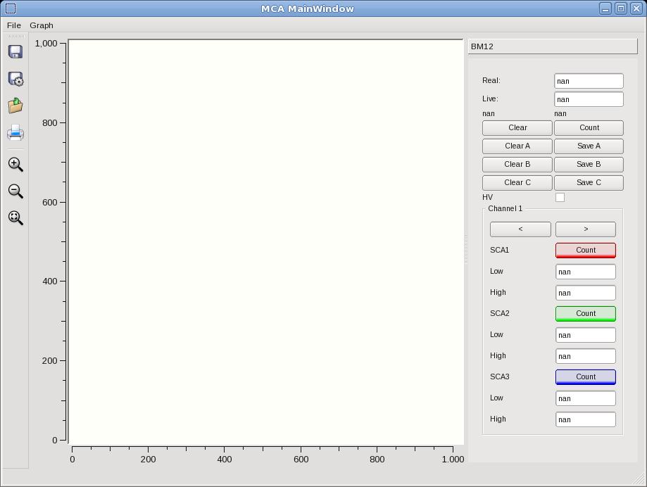 QMCA Screen image