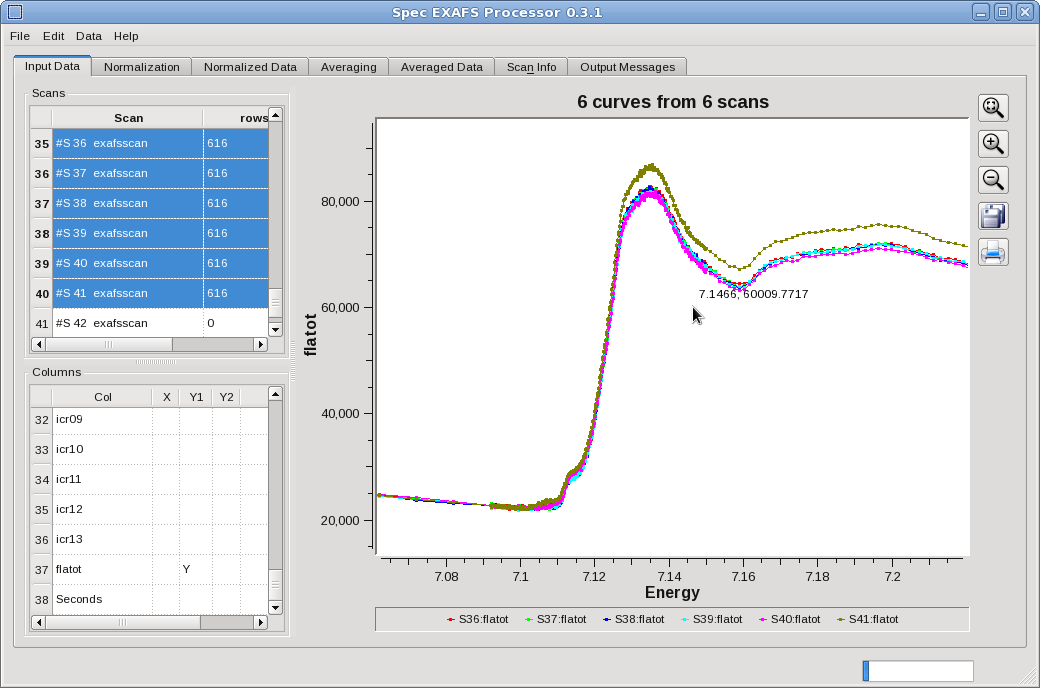 QSE Screen image