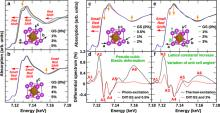 Ultrafast photoinduced structural distortions