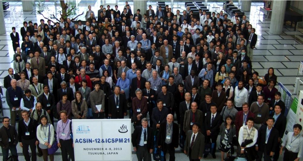 Participants of ACSIN-12 & ICSPM21, Tsukuba, Japan, November 4-8, 2013.