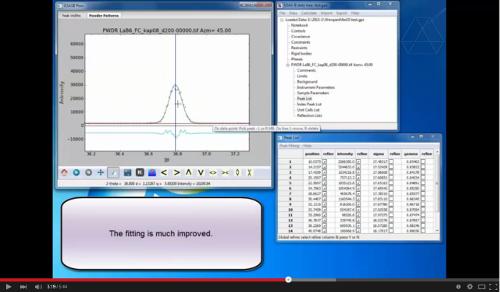 Determining 17-BM Instrument Parameters Using GSAS-II