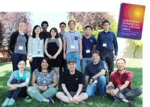 Co-authors Kwang-Je Kim (front row, center) and Ryan Lindberg (front row, second from right), APS, and Zhirong Huang (SLAC, front row, far right) are pictured with students of the 2016 U.S. Particle Accelerator School (USPAS). (Photo: Irina Novitski/USPAS